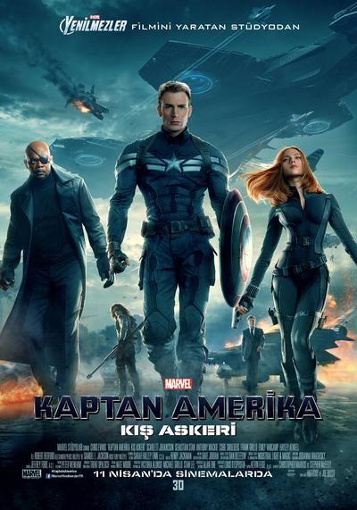 Kaptan Amerika: Kış Askeri – Captain America: The Winter Soldier 2014 (DVDRip XviD) Türkçe Altyazılı   Film indir - Tek Link Film indir, Hd film indir