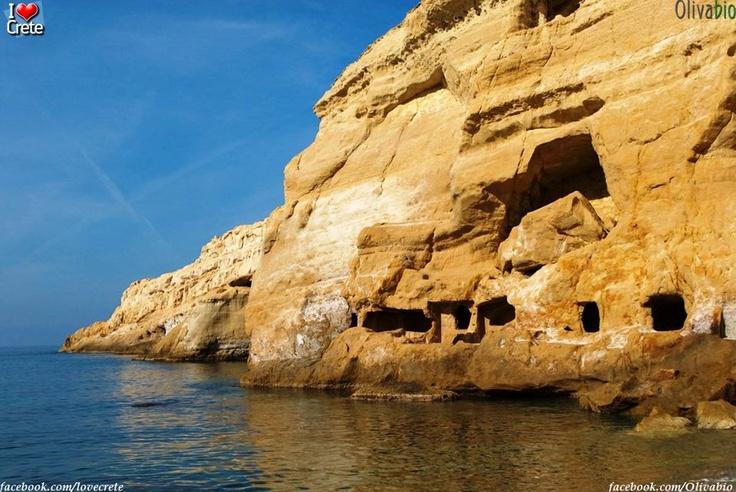 Matala, Crete island