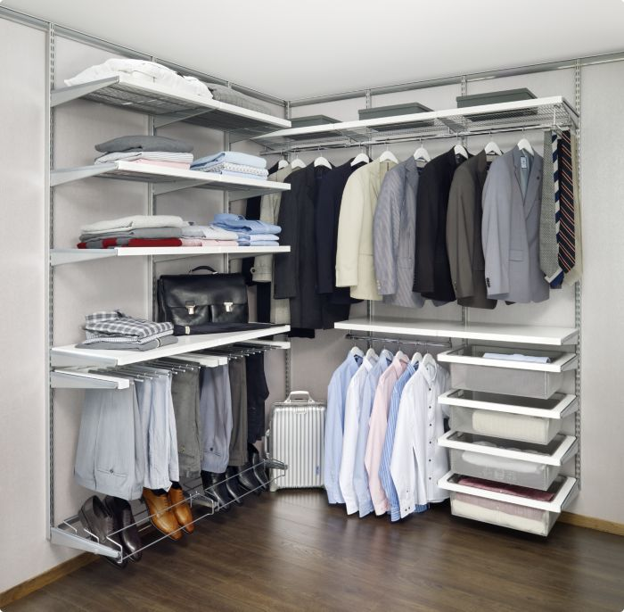 Storage Ideas For Closets best 25+ elfa closet ideas on pinterest | master closet layout