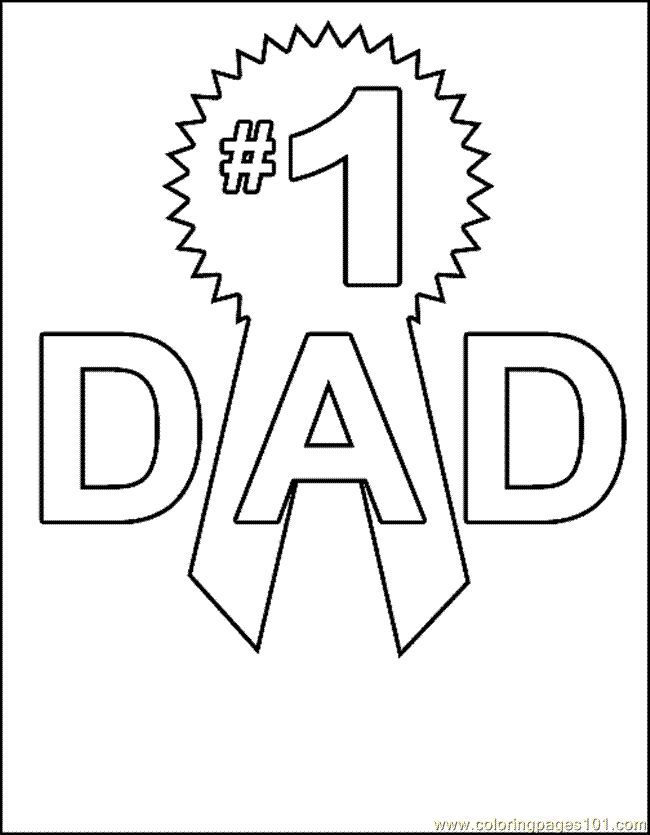 75 best Fathers day images on Pinterest Father Coloring sheets