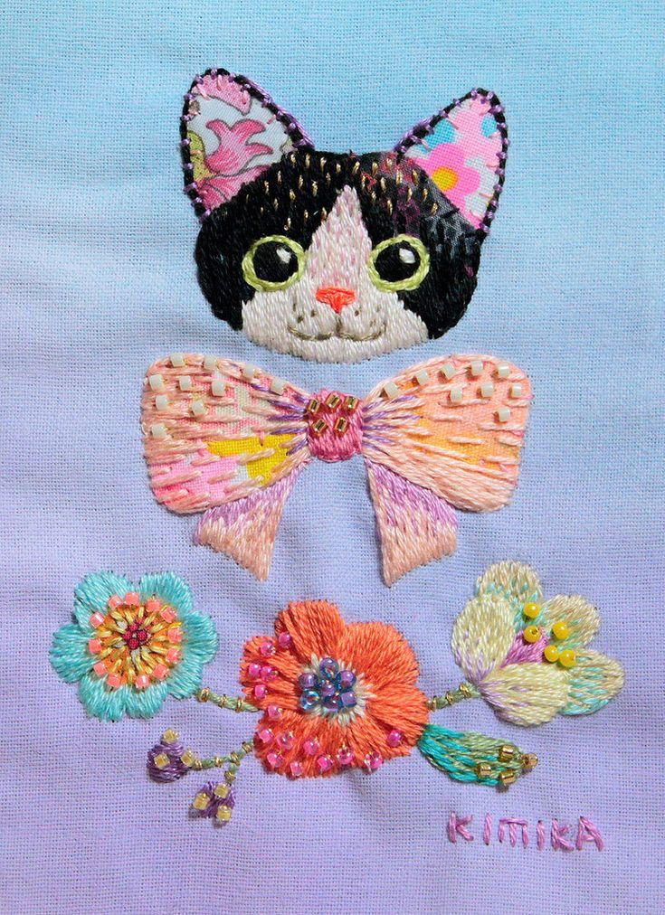 https://flic.kr/p/HXm9ts   cat (flower) by Kimika Hara