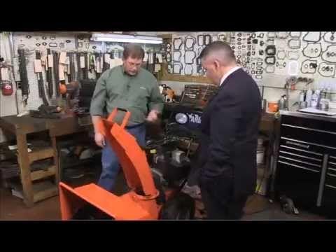 Snowblower Maintenance and Storage By David Naus http://davidnaus.myamsoil.com/