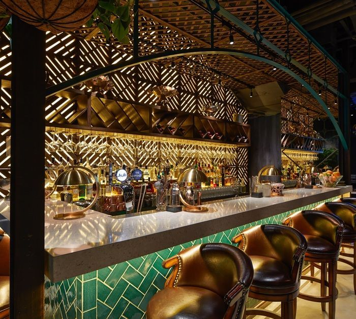 the optimist hong kong hong kong asia restaurant restaurant bar - Restaurant Bar Design Ideas