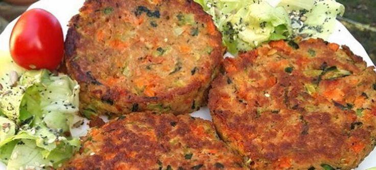 Μπιφτέκι λαχανικών: Πεντανόστιμο και υγιεινό!
