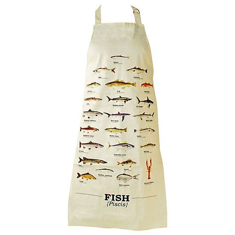 Buy Pisces Fish Apron Online at johnlewis.com