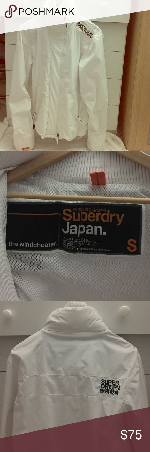 Superdry Jacket Superdry The Wind Cheater..Use a couple of times. No stain, no rip, no tear. Unisex . Fits a size 10 in women. Superdry Jackets & Coats Utility Jackets