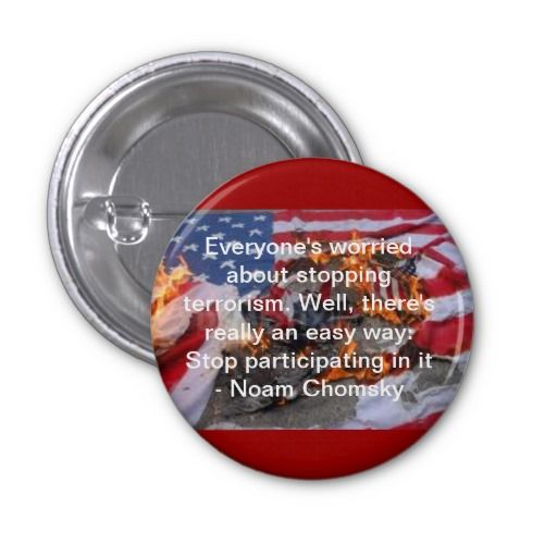 Everyone's worried about stopping terrorism... button