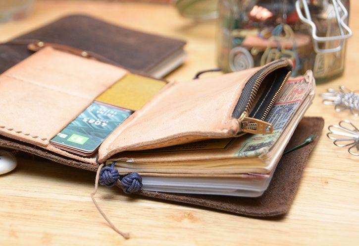 Passport size to replace wallet?? // Baum-kuchen - On Keeping My Notebook // Trina O'Gorman