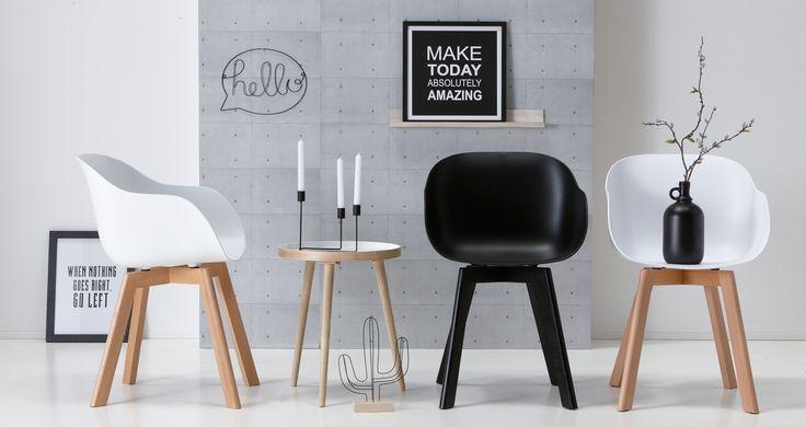 Wel het design, niet de prijs! Stoel NEW YORK shop je voor maar 49,- in diverse kleuren! #stoel #newyork #kwantum #kuipstoel #wonen #interieur