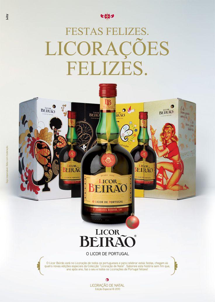 #licorbeirao #beirao #natal #publicidade #portugal #licordeportugal #packaging #produtoportugues