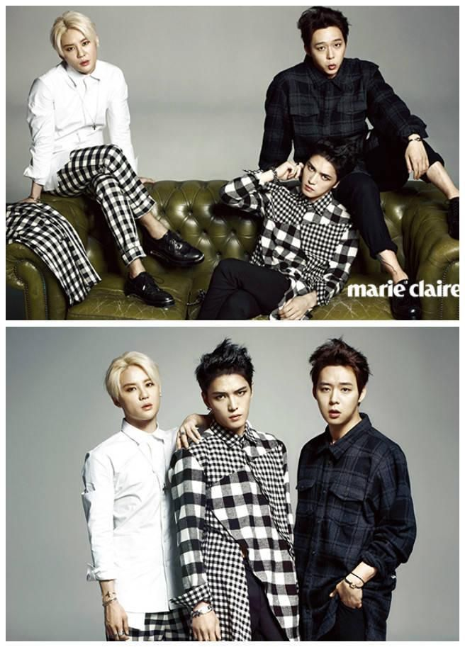[TRANS] Marie Claire Korea Magazine (August 2014 Issue) Excerpts: 'We are JYJ before anything' | JYJ3