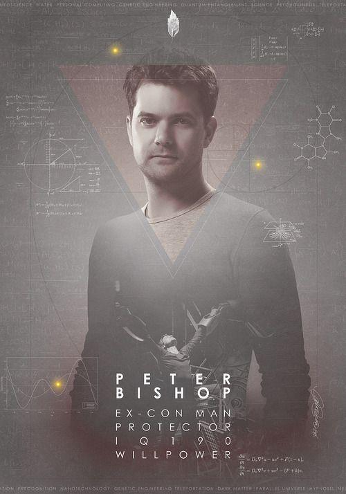 Fringe - Joshua Jackson as Peter Bishop