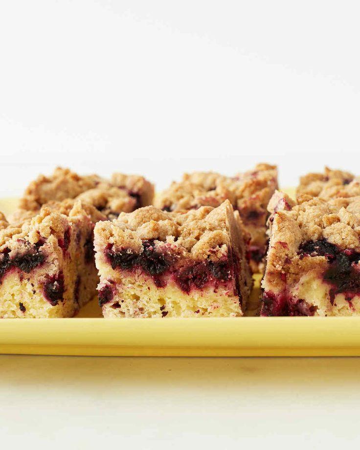 Black Raspberry Crumb Cake Martha Stewart