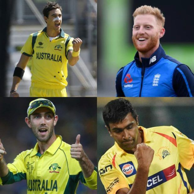 Maxwell Starc Ashwin attract big prices at IPL auction   Bengaluru Jan 27:Australians Glenn Maxwell and Mitchell Starc England pacer Ben Stokes and India off-spinner Ravichandran Ashwin have been offered for hefty costs on the Indian Premier League (IPL) public sale right here on Saturday.  Maxwell began at a base value of Rs 2 crore and sparked a bidding warfare between Sunrisers Hyderabad Kings XI Punjab Rajasthan Royals and Royal Challengers Bangalore (RCB) ahead of the Delhi Daredevils…