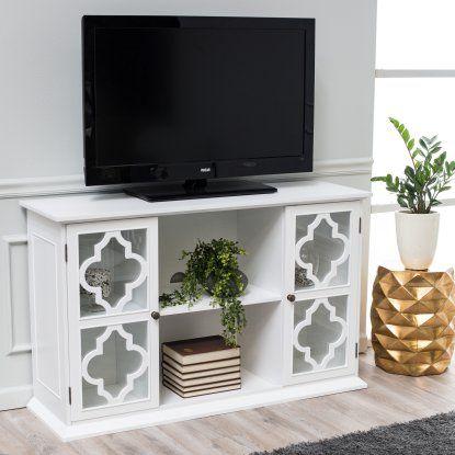 Belham Living Renata Quatrefoil TV Stand