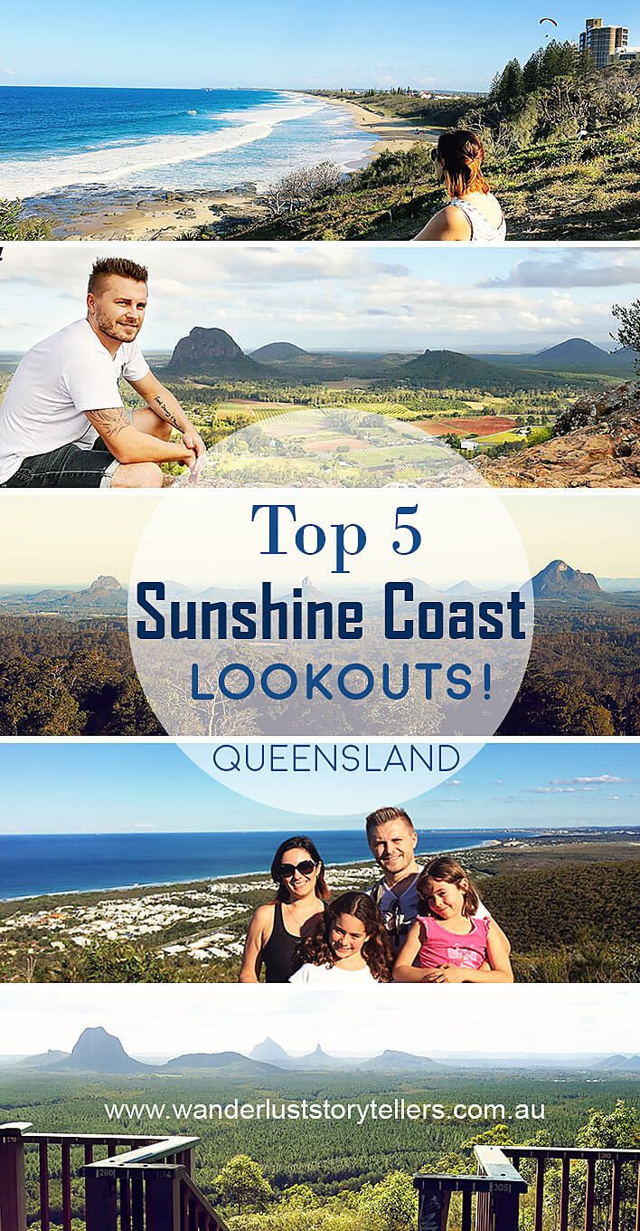 Things to do on the Sunshine Coast. Check out the Top 5 Sunshine Coast Lookouts!