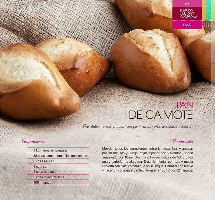 [Foto] ¿Cómo se prepara un exquisito y económico pan de camote?