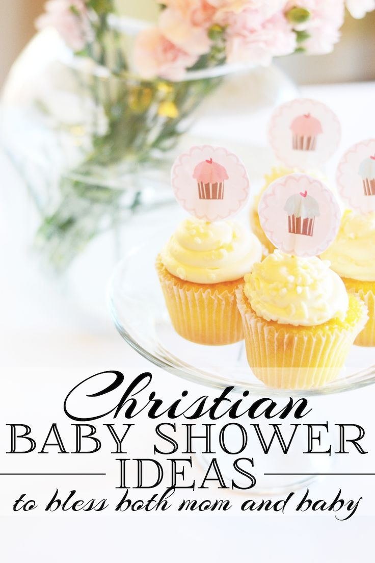 Ideas for attending or throwing a Christian baby shower!