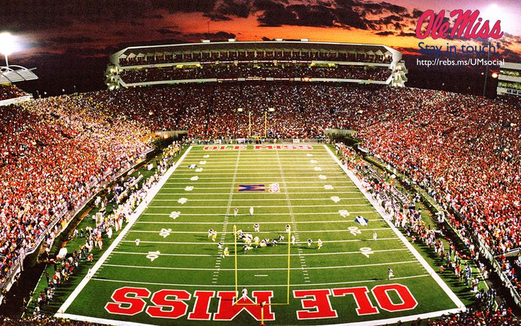 Ole Miss Background Wallpaper | Football Wallpaper