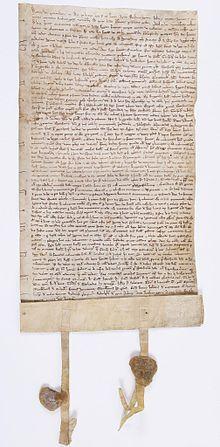 Acte de capitulation de Rouen de 1204 signé Pierre de Préaux et adressé au roi de France Philippe AugusteRouen — Wikipédia