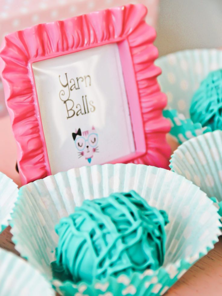 You haven't seen a kitty theme party as cute as this! My daughter asked for a cat birthday party. So many adorable kitty party theme ideas you'll be amazed! #CatBirthday
