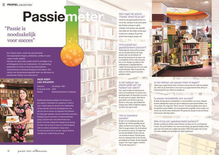 Passiemeter Rubriek Profiel Magazine Euretco