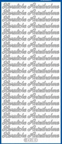 Nieuw bij Knutselparade: L251 Starform sticker schwarz herzliche Anteilnahme 420 https://knutselparade.nl/nl/stickervellen/4875-l251-starform-sticker-schwarz-herzliche-anteilnahme-420.html   Stickervellen, Duitse Teksten -  Starform