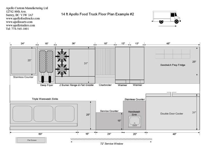 Food Truck Floor Plan Picturesque Food Truck Floor Plan Outdoor