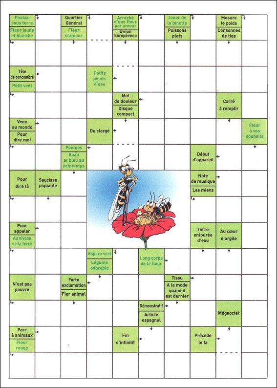 Häufig Les 25 meilleures idées de la catégorie Jeux de mots fléchés sur  VZ62