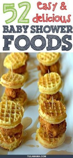55 Easy Delicious Baby Shower Food Ideas Food Appetizers