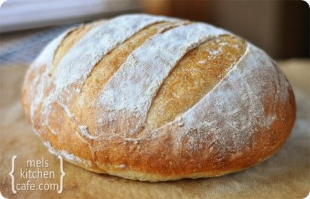 Rustic Crusty Bread No Knead! 3 ingredients! This is some really good bread!!