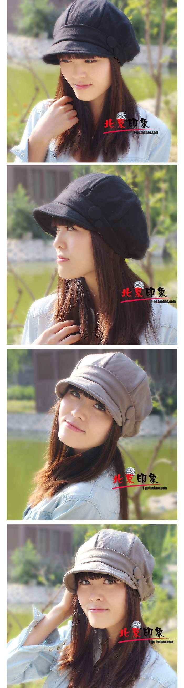 envío gratis sombrero de mujer otoño e invierno moda pequeño cubo sombrero sombreros copa el pato lengua boina grandes y pequeños en Sombreros de cubo de Moda y Complementos en AliExpress.com | Alibaba Group
