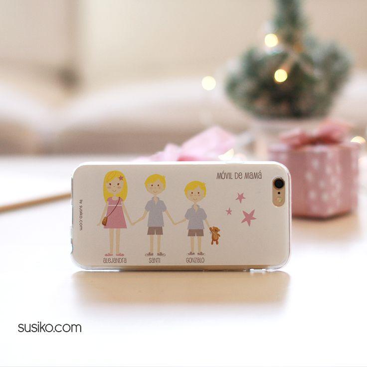 Fundas de móvil personalizadas, diseña tu funda con la familia