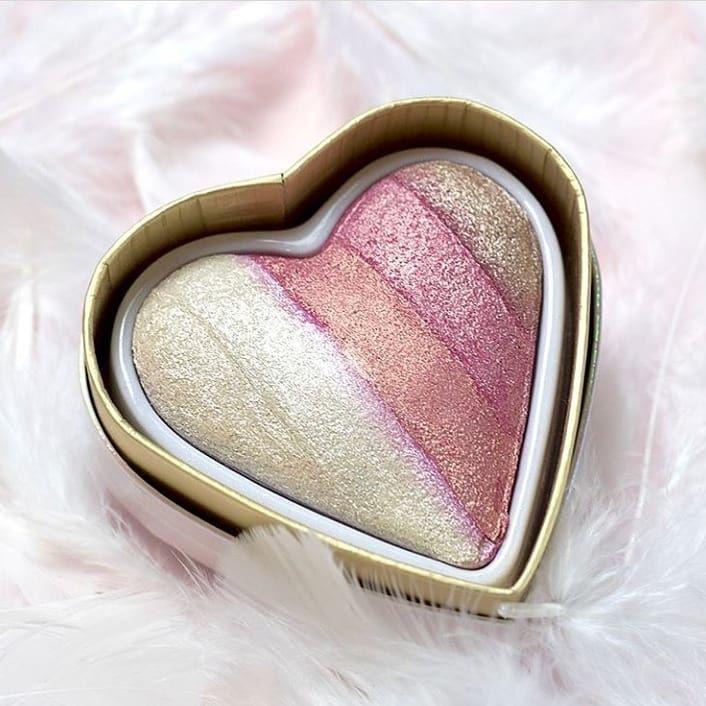 Nd Beauty On Instagram I Heart Revolution Seriyasinin Yeni Angel Məhsulu Highlighter Qiymət 17 Revolution Highlighter Highlighter Angel Heart
