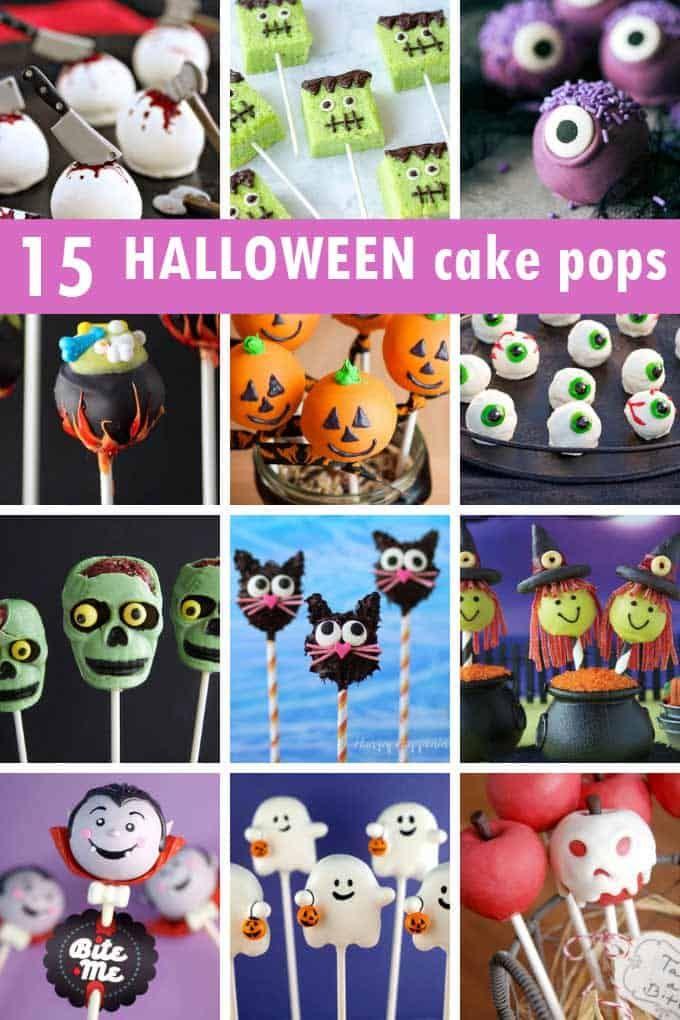 15 Halloween cake pops    – FOOD CRAFTS: Halloween