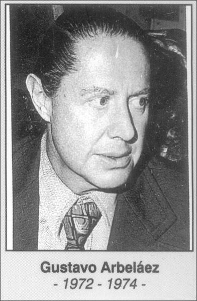 Gustabo Arbeláez 1972-1974