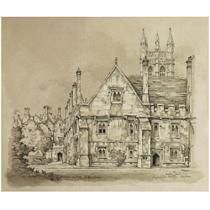 Magdalen College Oxford van Pieck, Anton