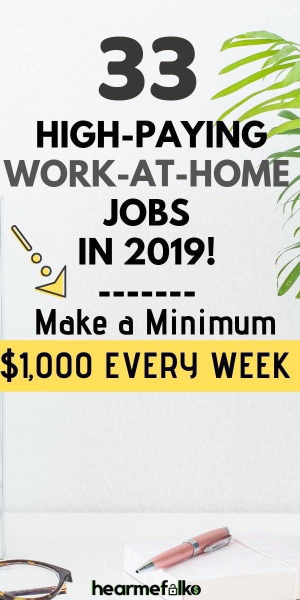 33 Legitimate Work From Home Jobs to Make $25 per hour – Arbeiten