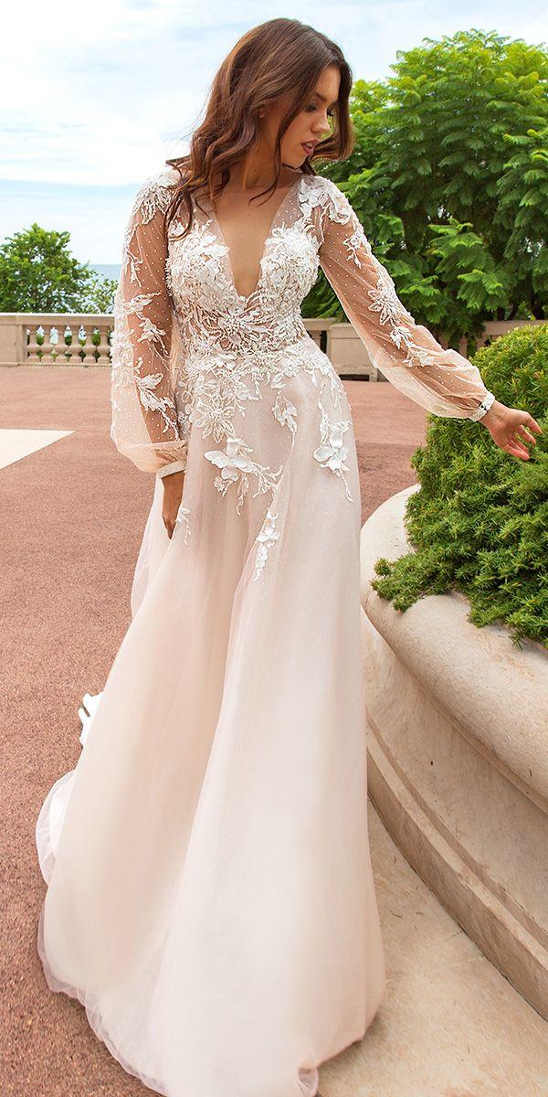 Best Crystal Design Wedding Dresses ❤ See more: http://www.weddingforward.com/crystal-design-wedding-dresses/ #weddings