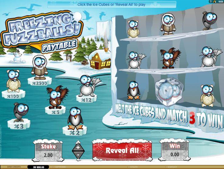 La société Microgaming travaille sans cesse pour divertir leurs clients avec de nouveaux appareils pour jouer en ligne. Ainsi, dans le jeu de grattage Freezing Fuzzballs, les animaux sympathiques congelés dans la glace vous offriront la bonne humeur. Brisez la glace pour trouver les images identiques et le prix ne vous fera pas attendre!