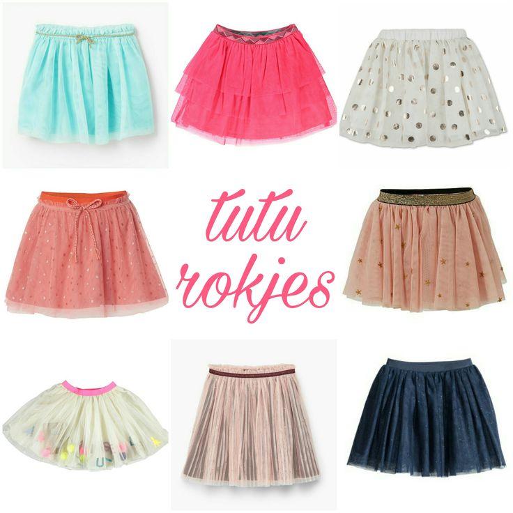 De leukste tule tutu rokjes voor meisjes #leukmetkids #kinderkleding #meisjeskleding