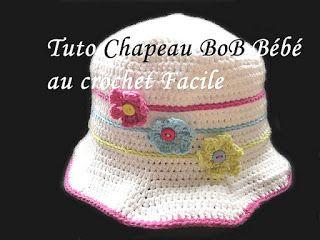 tuto bob chapeau pour bb au crochet
