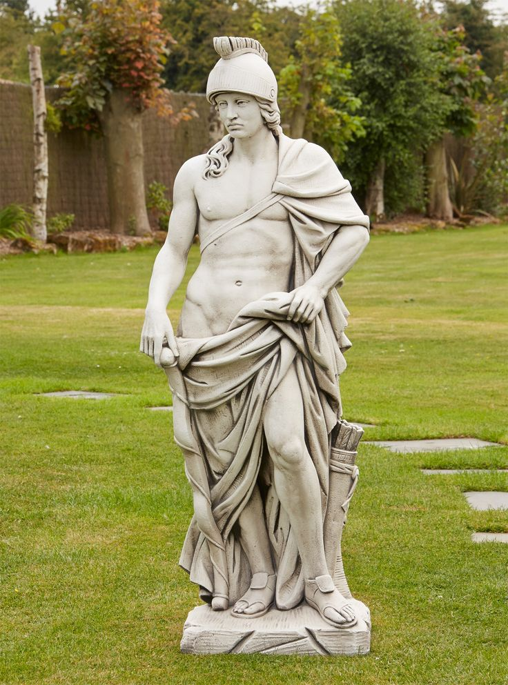 View The Roman Empire Gladiator Stone Sculpture   Large Garden Statue. Or  See Our Full Range Of Exquisite Unique To Statues U0026 Sculptures Online.