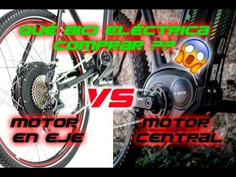 Debes Saberlo Antes De Comprar una Bici Eléctrica -  Motor Hub VS Motor Central - YouTube