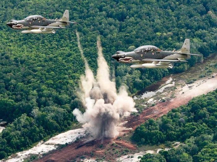 Aviones de ataque a tierra y cañoneros de la FAC - Página 78 - América Militar