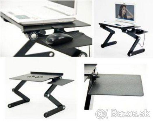 Skladatelny podstavec / stolik pod notebook s chladenim - 29€ nový