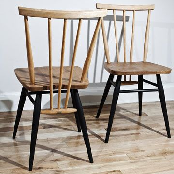 upcycled Ercol chairs by Caroline Key