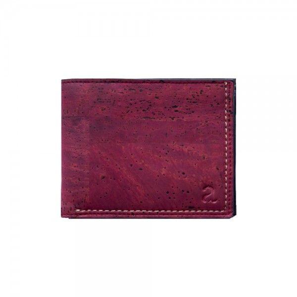 Glen Men's Coin Wallet in Oxblood - Vegan Wallets  Shop more on shop.addresschic.com
