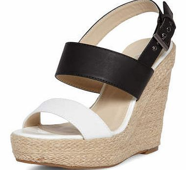 Dorothy Perkins Womens Black and white high wedges- Black And Black and white high espadrille wedges. Heel height approx 5. 100% TEXTILE. http://www.comparestoreprices.co.uk/womens-shoes/dorothy-perkins-womens-black-and-white-high-wedges-black-and.asp