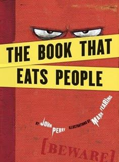The Book That Eats People- Review { hilariously dark - kids love it}